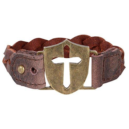 Shield Braid Bracelet
