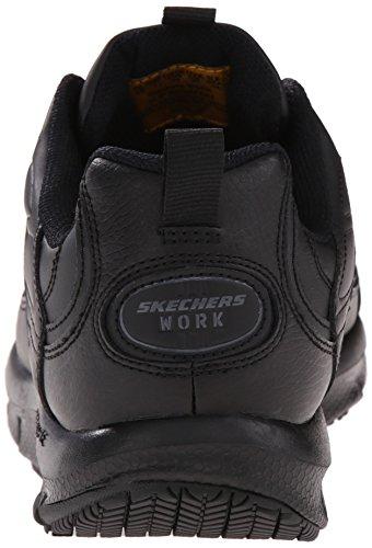Skechers Voor Werk Heren 76990 Liv Sr Brawney Shape Ups Werkschoen Zwart