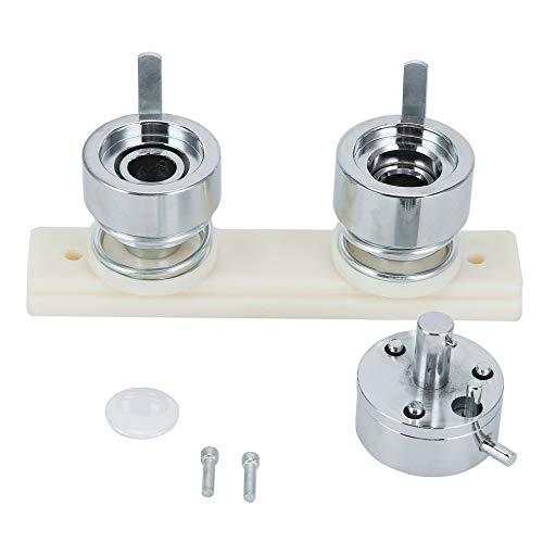 Simoner - Molde de botón redondo para perforación de insignia ...