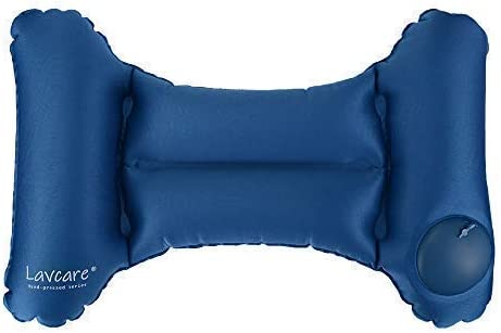 Self-Inflating Inflatable Compressible Camping Pillow Travel Lumbar Cushion