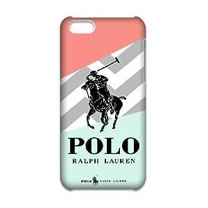Genérico funda para teléfono iPhone 6 6S 4.7 Inch [duro Snap-On FKASKOSGJ0409] Encargo logotipo Ralph Lauren tema [Sólo para iPhone 6 6S 4,7 Inch Funda]