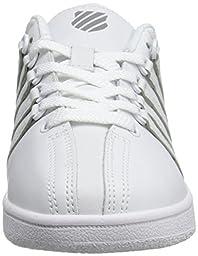 K-SWISS Baby Classic VN-K Sneaker, White/White, 2 M US Infant
