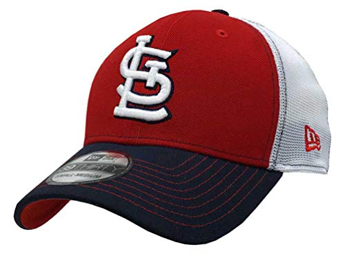 New Era 2019 39Thirty MLB St Louis Cardinals Practice Piece Hat Cap Flex Fit S/M