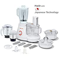 Rico Food Processor 700-Watt with Coconut Scraper and Juicer (White)