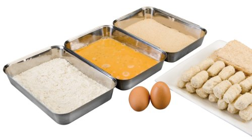 IBILI 753200 Set 3 breading pans