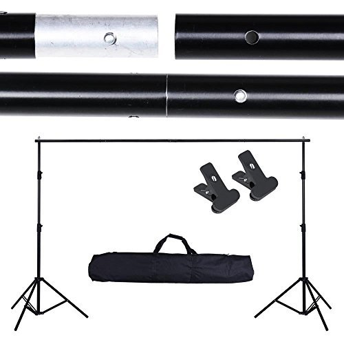 New Stand Photo Backdrop 10Ft Adjustable Background Support Crossbar Kit (Halloween Cutouts Pinterest)