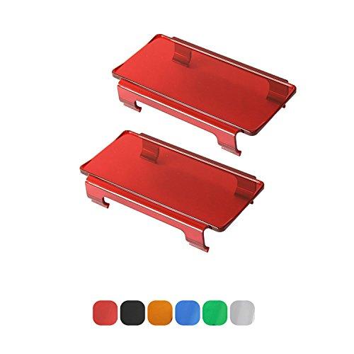 Red Plastic Lense - 9