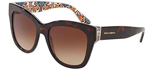 Dolce & Gabbana Women's 0DG4270 Havana/Brown Gradient 1 One ()