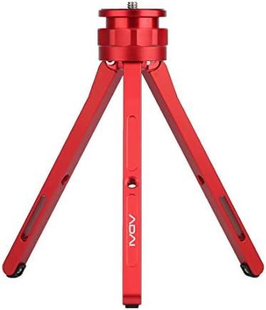 Camera Tripod Mount ADAIデジタル一眼レフ&デジタルカメラ用調整可能なアルミ合金ミニ三脚スタンド卓上三脚(