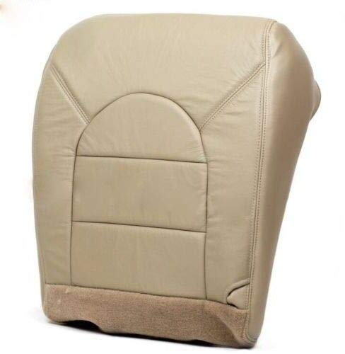 2000 Fits Ford F-350 Diesel Lariat Driver Bottom Replacement Leather Seat Cover Tan