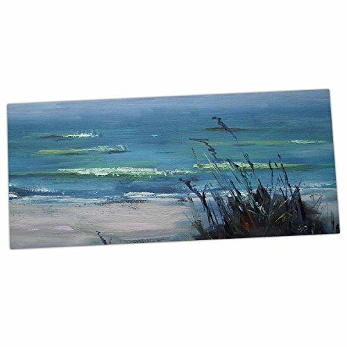 "KESS InHouse Carol Schiff ""Sanibel"" Blue Painting Desk Ma..."