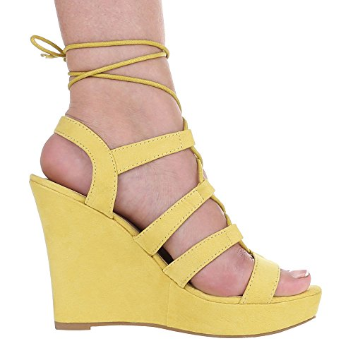 Ital-Design - Sandalias / Sandalias Mujer Amarillo - amarillo