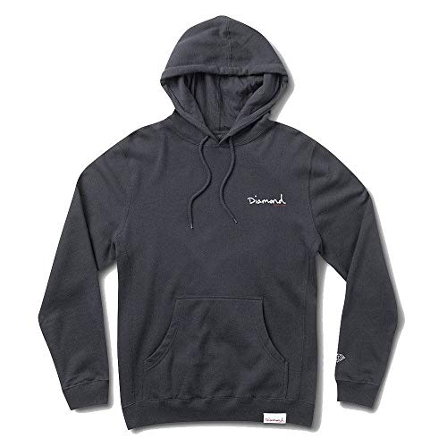 Diamond Supply Co OG Script Hoodie Navy White by Diamond Supply Co