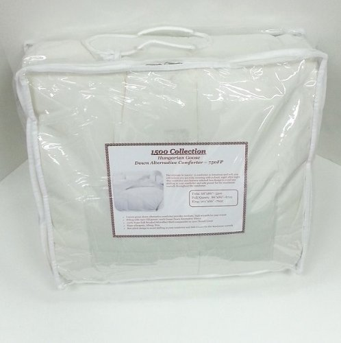 Multiple Sizes - 1500 Collection - Hungarian Goose Down Alternative Comforter - 750FP - Exclusively by BlowOut Bedding - Full/Queen