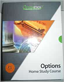 Stock options home study course