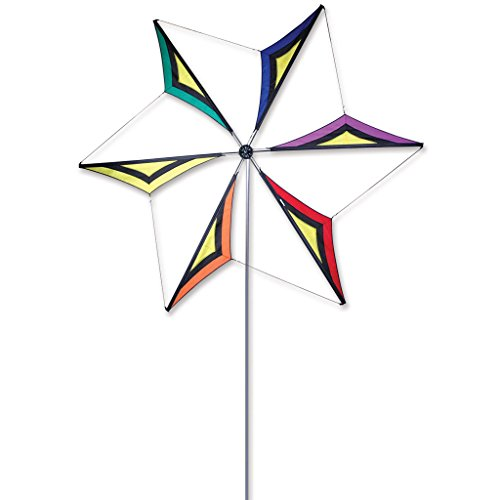 Wind Blade Spinner - Rainbow Star (Wind Generator Rainbow)