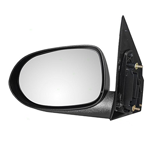 Drivers Manual Side View Mirror Textured Replacement for Dodge 5115037AC