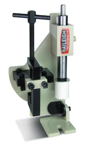 Baileigh TN-210H Manual Hole Saw Notcher, 2'' Capacity by Baileigh