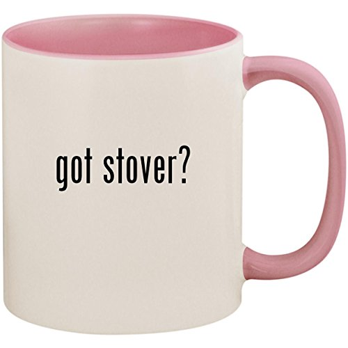 got stover? - 11oz Ceramic Colored Inside and Handle Coffee