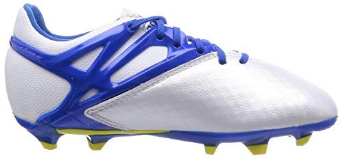 adidas Messi 15.1 FG/AG J - Botas Para Niño Blanco / Azul / Negro
