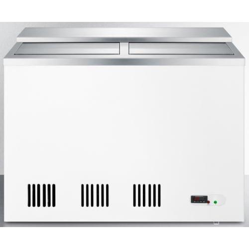 Summit SCFR70BC Chest Freezer, White/Stainless-Steel