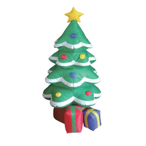 4 Foot Inflatable Christmas Tree Yard Decoration