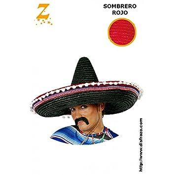 Sombrero Mejicano Grande Amarillo  Amazon.es  Juguetes y juegos 624e73376af