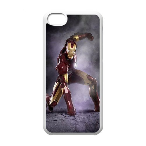 LP-LG Phone Case Of Iron Man For Iphone 5C [Pattern-6]
