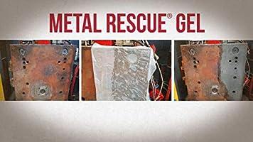 Workshop Hero WH003227 Metal Rescue Rust Remover Gel, 17 64 Fluid_Ounces
