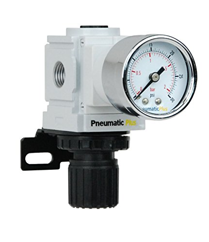 Back Regulator Pressure - PneumaticPlus PPR2-N02BG-2 Miniature Air Pressure Regulator 1/4