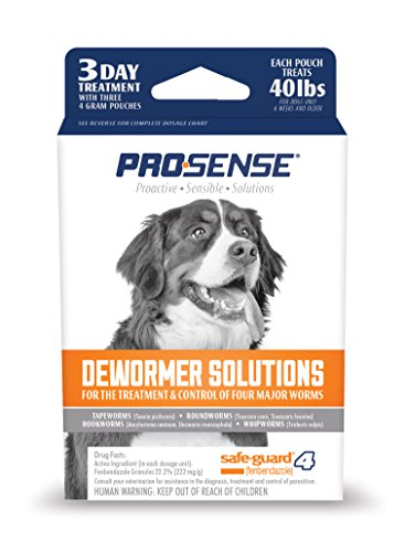 Pro-Sense Dog Solutions dewormer