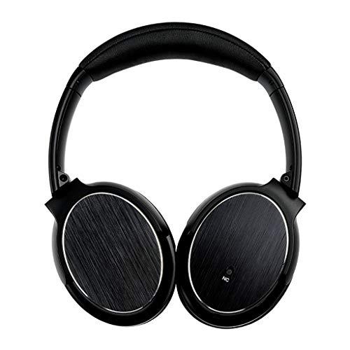 Foldable Head-Mounted Headset,Roisay Cool Look Headphones Bluetooth Wireless Stereo Foldable Noise Cancelling USB Headset Versatile Design Adjustable Hinge Length Earphone