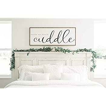 Bawansign This Is Us Sign For Bedroom Love Farmhouse Sign Framed Sign Living Room Farmhouse Bedroom