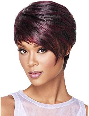 Fiber High Temperature Silk Wine Wig Red Lady Short Hair Curling Wigs 25cm 30cm Price In Uae Amazon Uae Kanbkam