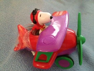 Snoopy Flying Ace in Airplane Filled with Candy 4