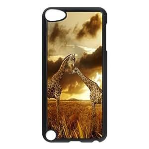 JenneySt Phone CaseGiraffe Pattern FOR Ipod Touch 5 -CASE-3