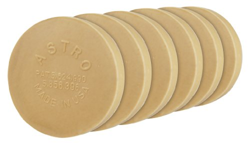 Astro 400E6 6 Pack, Smart Eraser Pad For Pinstripe Removal Tool (Eraser Decal)