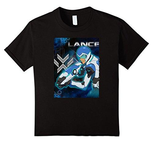 Price comparison product image Kids Voltron Legendary Defender Lance Blue Lion Action T-Shirt