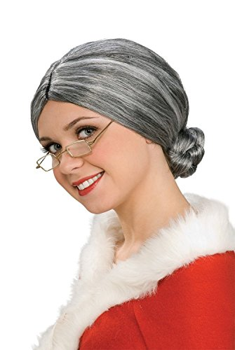 Deluxe Old Lady Wig - One Size