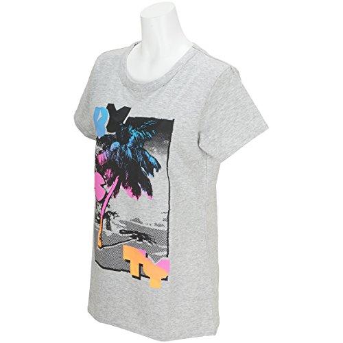 ラスティ RUSTY 半袖シャツ?ポロシャツ 半袖Tシャツ レディス グレーヘザー L