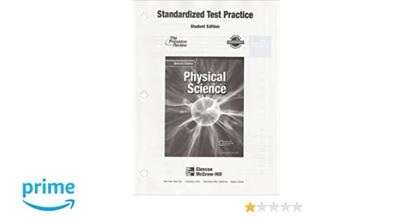 Physical Science (Standardized Test Practice-Student Edition ...