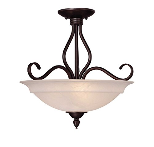 (Savoy House KP-111-3-13 Three Light Semi-Flush)