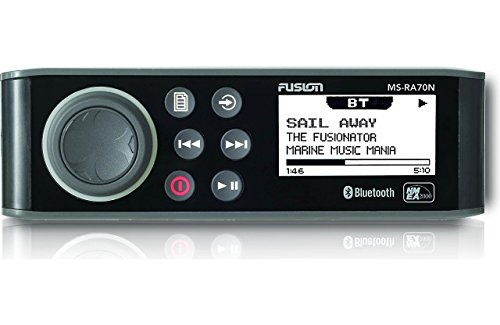 Fusion Entertainment MS-RA70N Marine Entertainment System with Bluetooth with NMEA 2000 compatibility (Best Marine Stereo With Wired Remote)