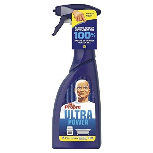 Mr Propre 81657938 Ultra Power multifunctionele reinigingsspray 500 ml – 4 stuks