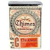 Chimes All Natural Orange Ginger Chews - 2 oz Tin