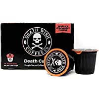 Death Wish Coffee Single Serve Capsule for Keurig K-Cup Brewers, USDA Certified Organic and Fair Trade, 10 Capsules
