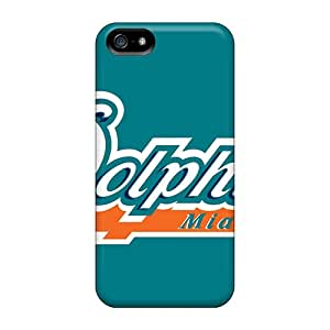 Iphone 5/5s Agf991HCfd Provide Private Custom Fashion Miami Dolphins Image Best Cell-phone Hard Covers -KaraPerron