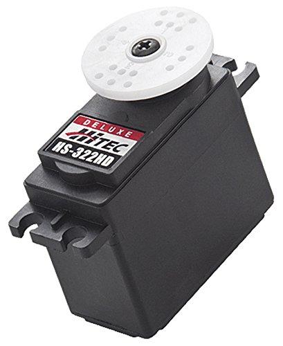 Hitec 33322S HS-322HD Standard Deluxe Karbonite Gear Servo ()