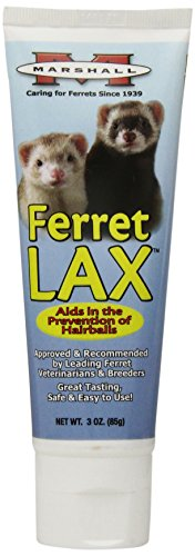 (Marshall Ferret Lax Hairball and Obstruction Remedy for Ferrets, 3-Ounce)