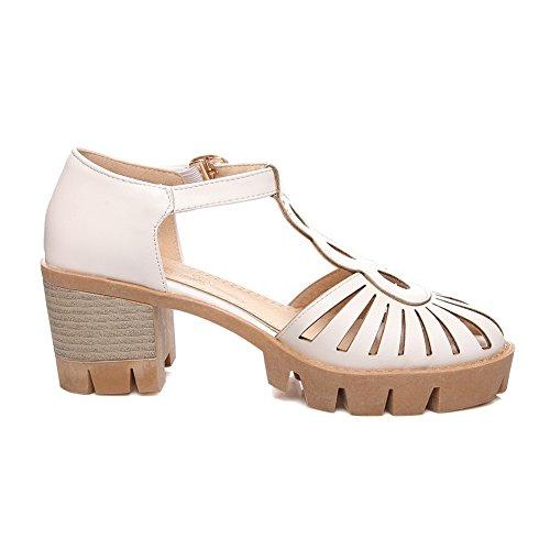 Compensées Femme Sandales Compensées BalaMasa BalaMasa Sandales Femme Blanc Pnd6YPq